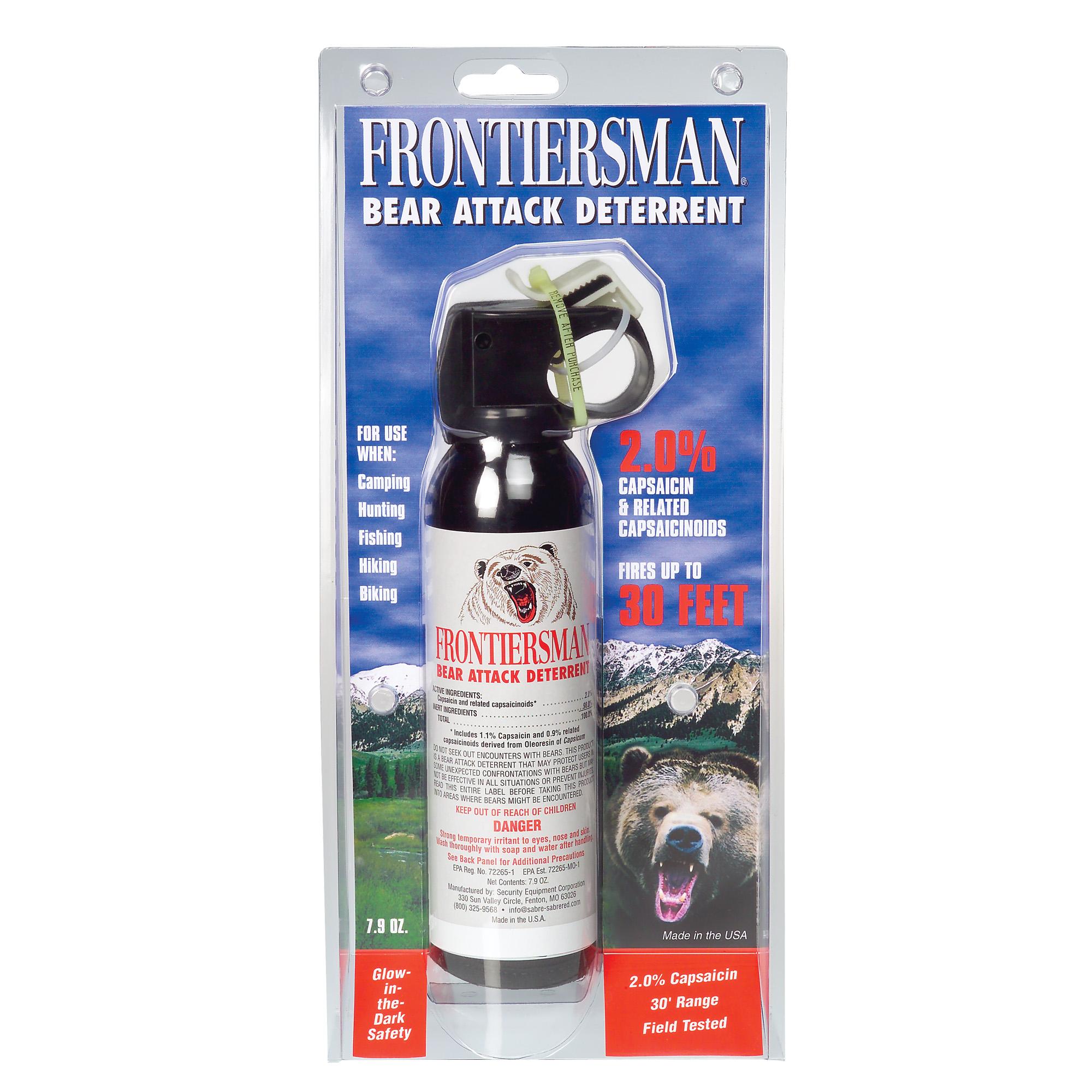 Sabre Frontiersman Bear Spray W/hlst