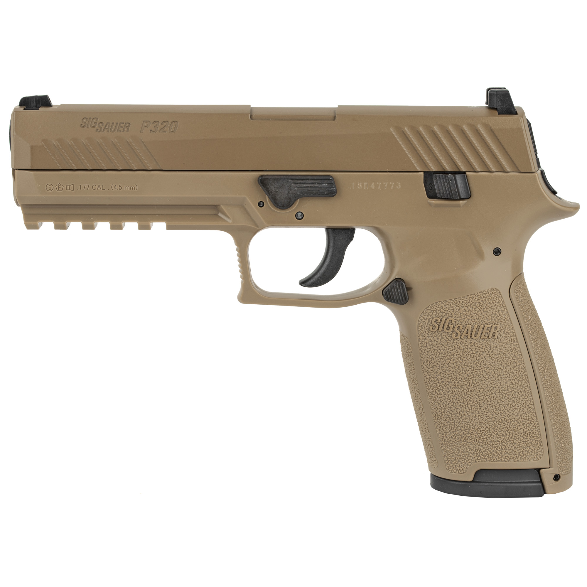 Sig P320 Air .177 Co2 30rd Coyote Tn