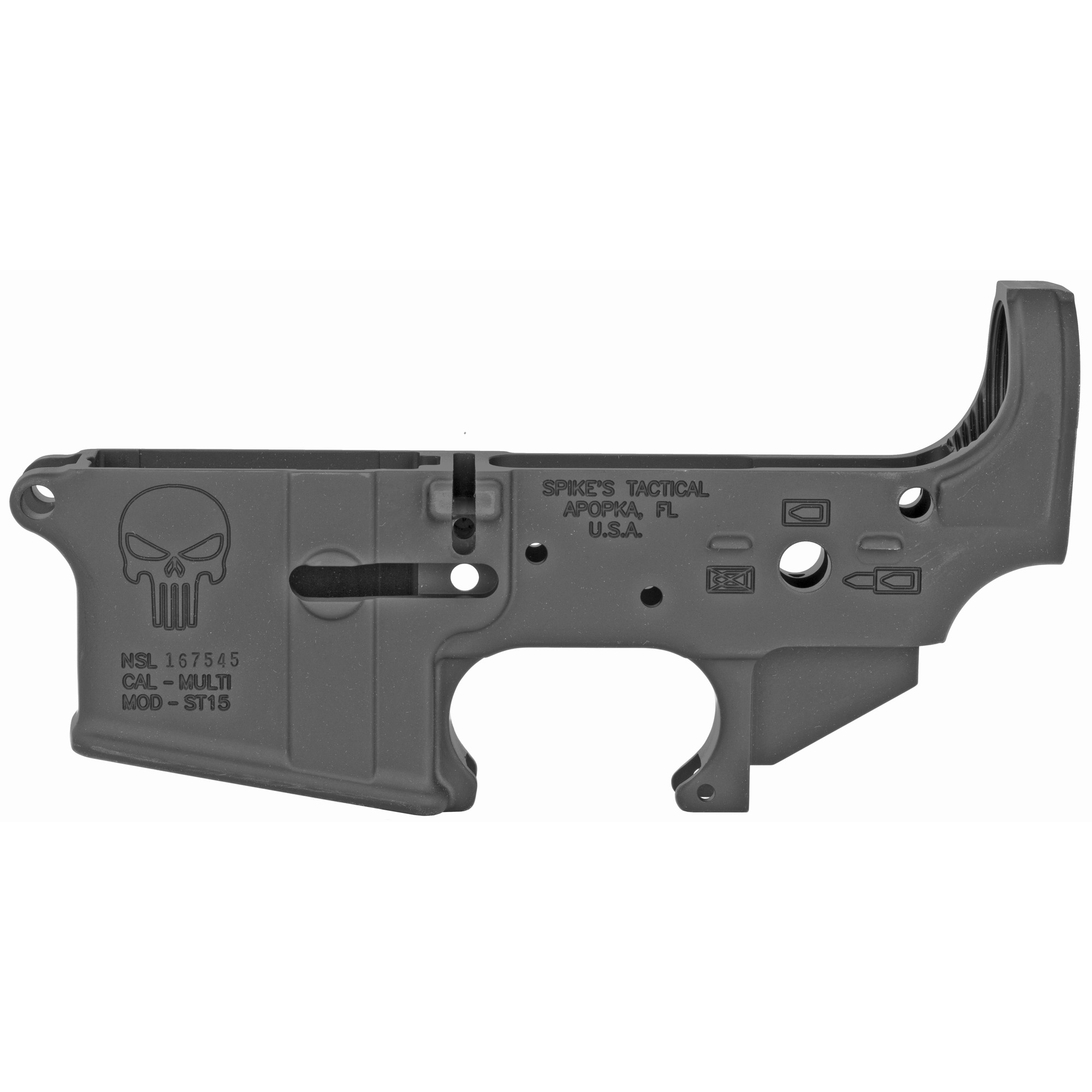 Spikes Stripped Lower(punisher)