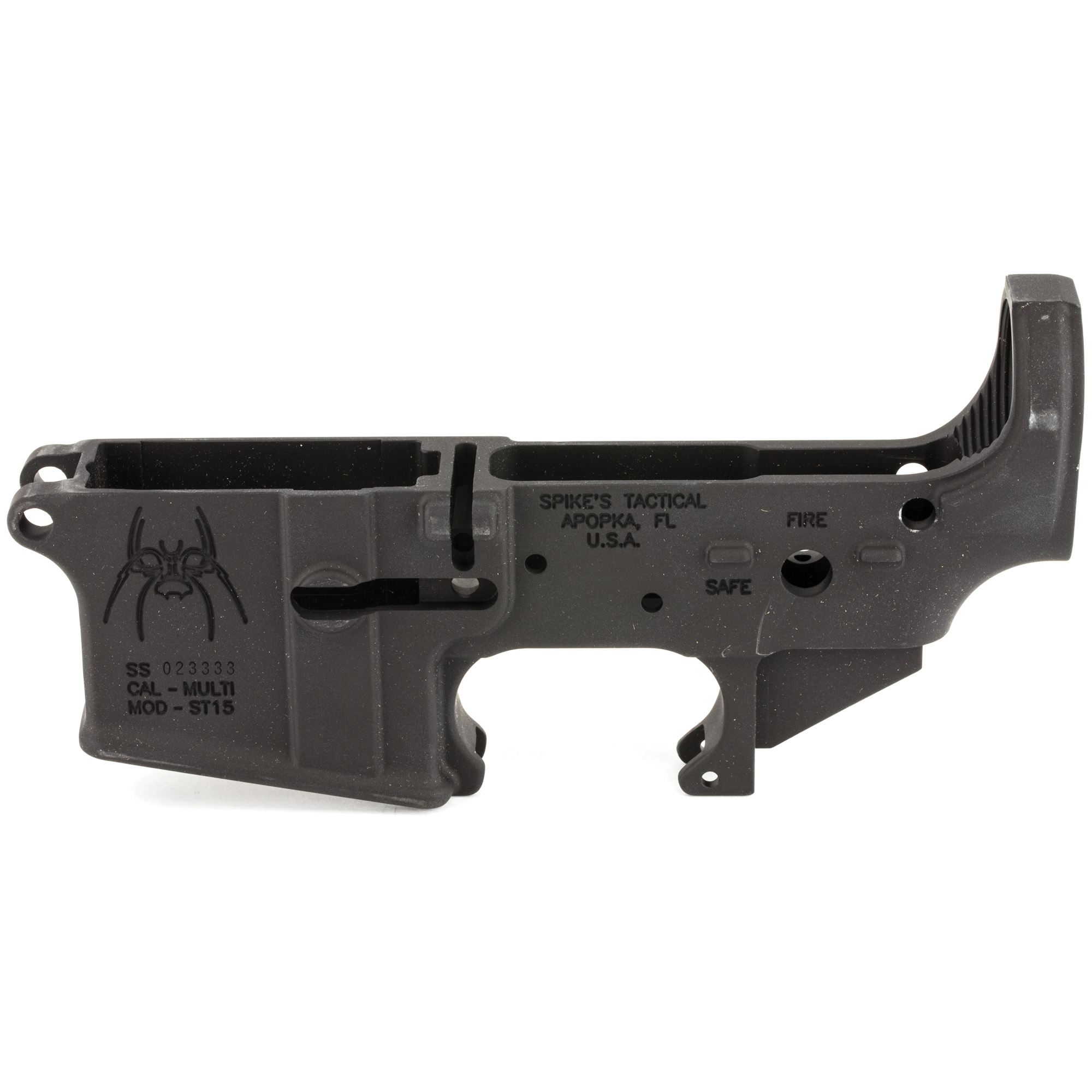Spikes Stripped Lower (fire/safe)