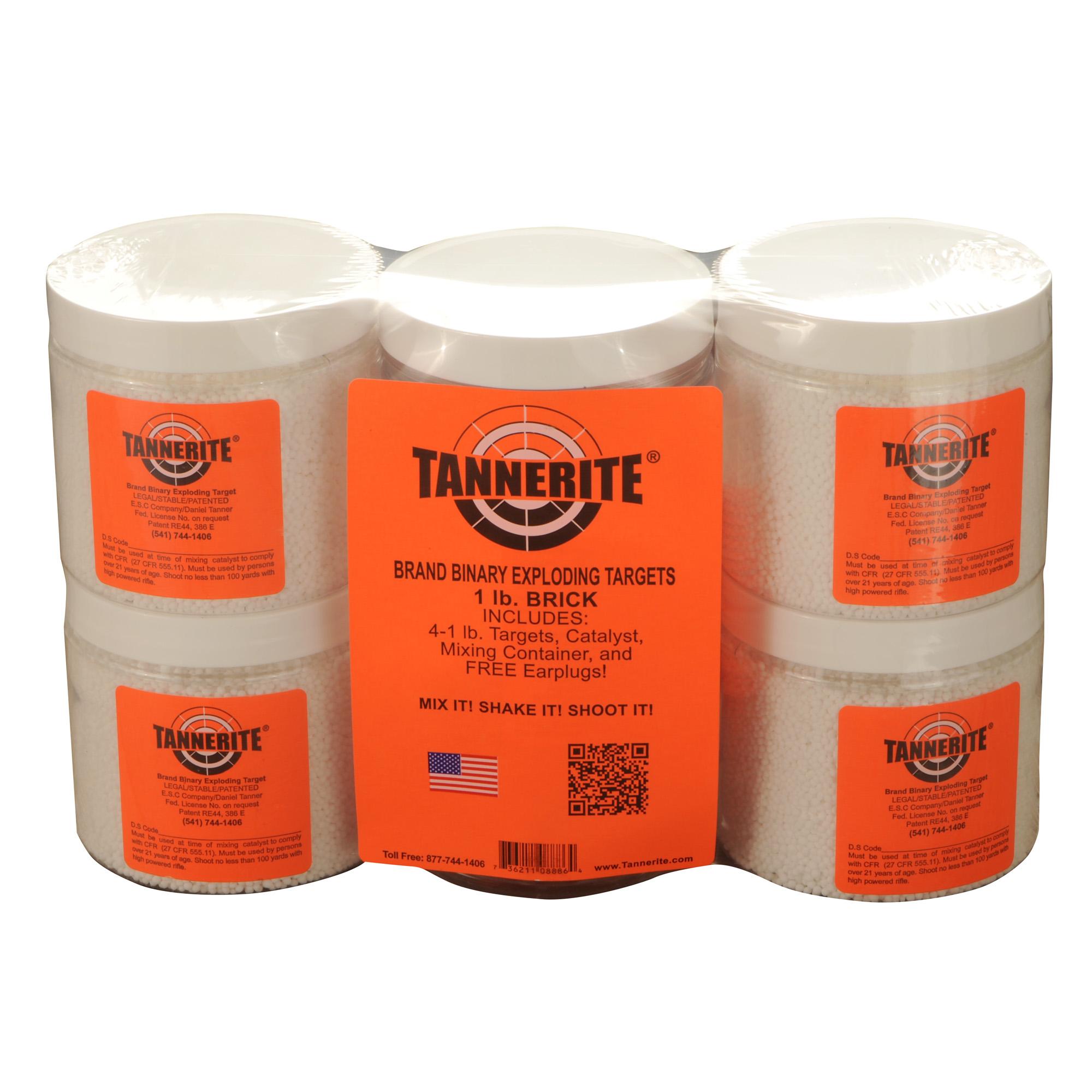 Tannerite Brick 1lb Trgt 4/pk