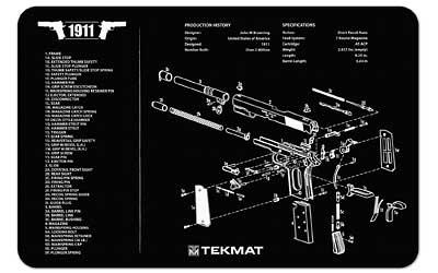 Tekmat Pistol Mat 1911 Blk