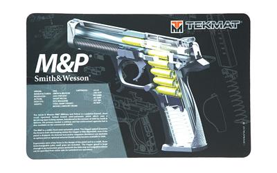 Tekmat Pistol Ds Mat S&w M&p Blk/blk