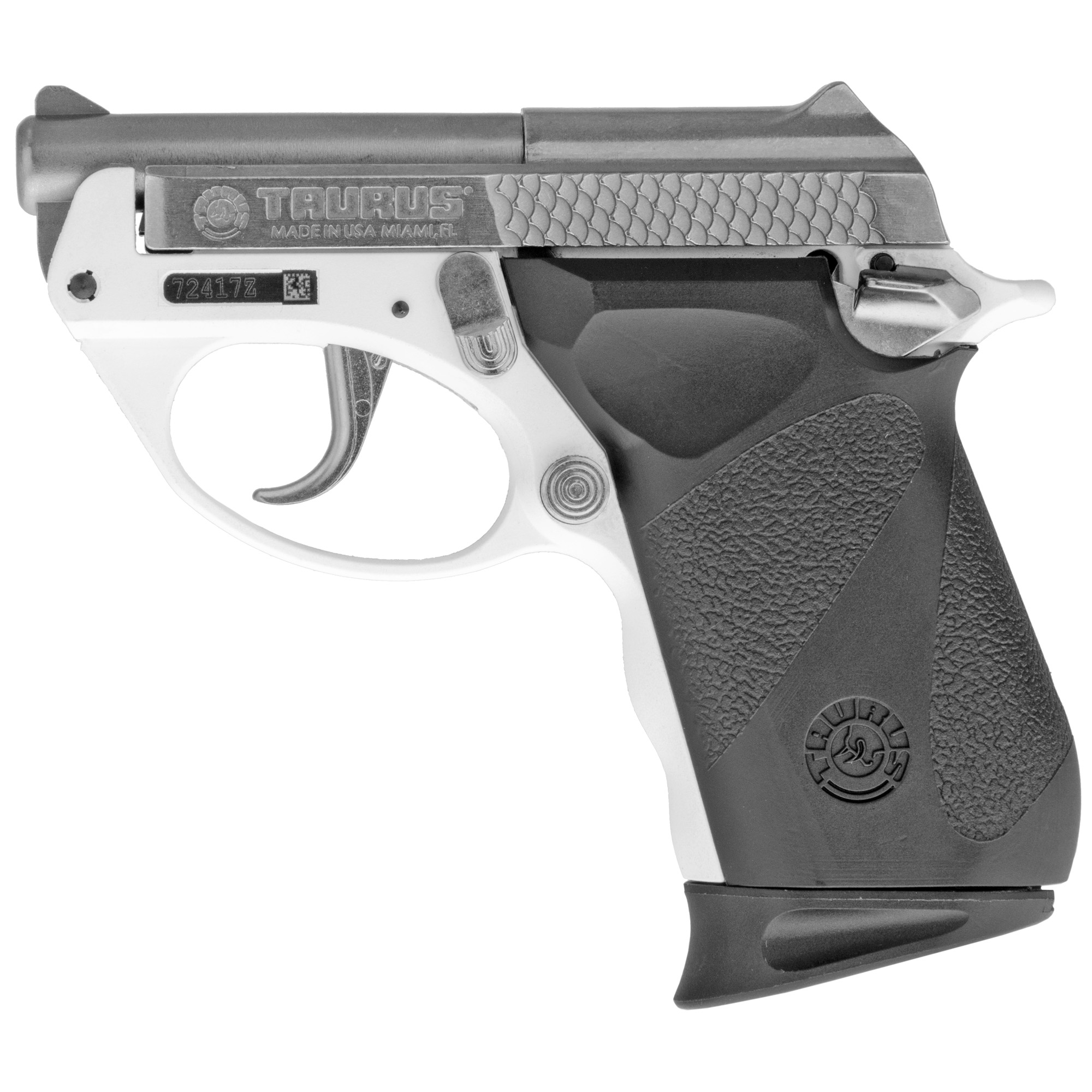 Taurus Pt22 Poly 22lr 8rd White/sts