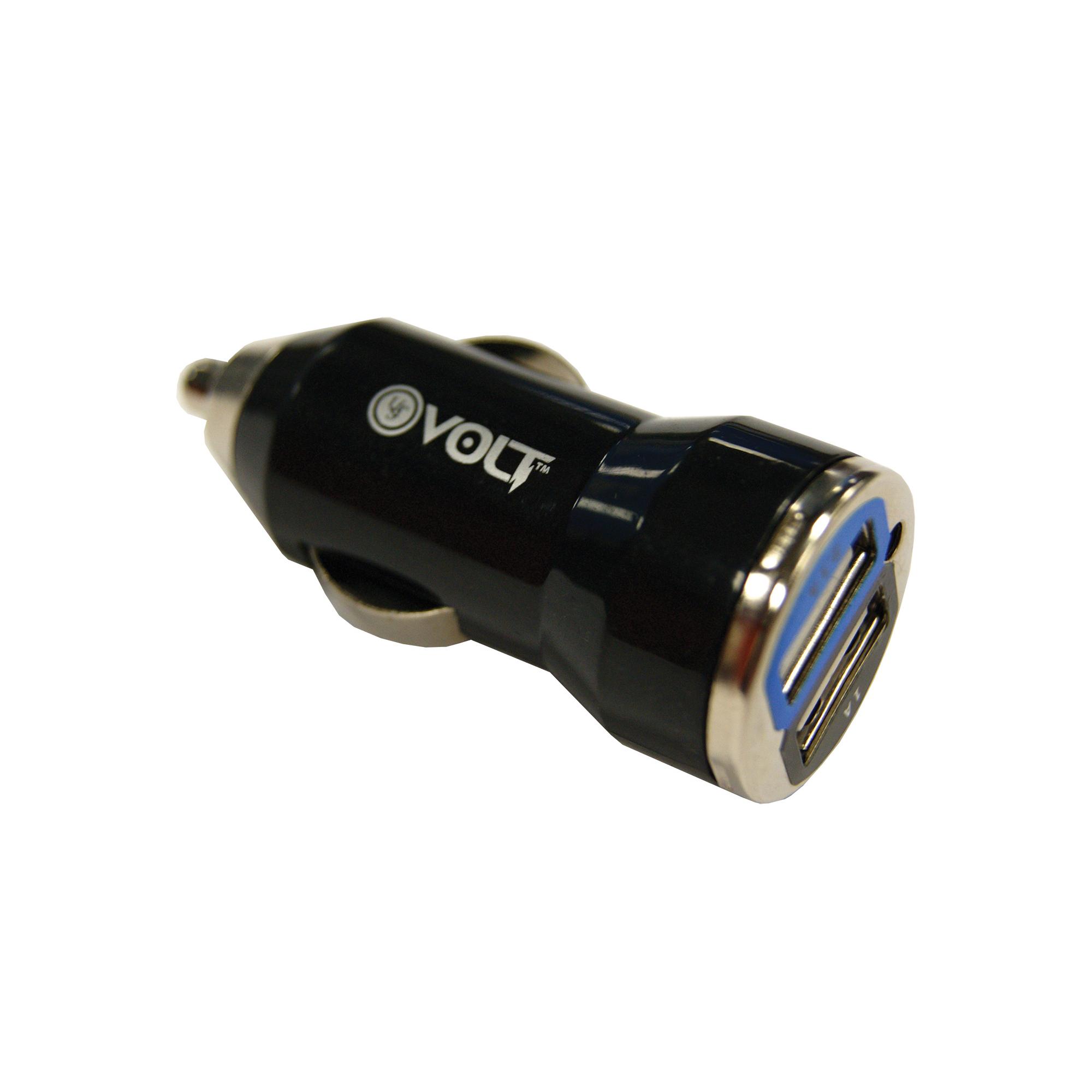 Ust Volt Xl 12v Dual Usb Adapt Blk
