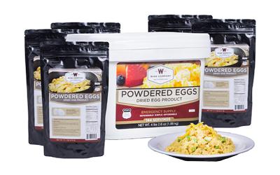 Wise Powdered Eggs Bucket 144 Serv