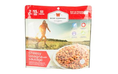 Wise Camping Lasagna W/ Sausage 6pk