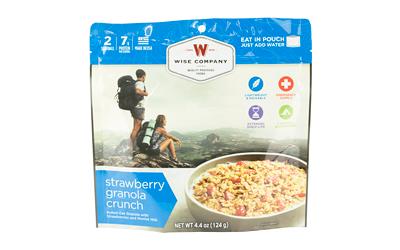 Wise Camping Strawberry Granola 6pk