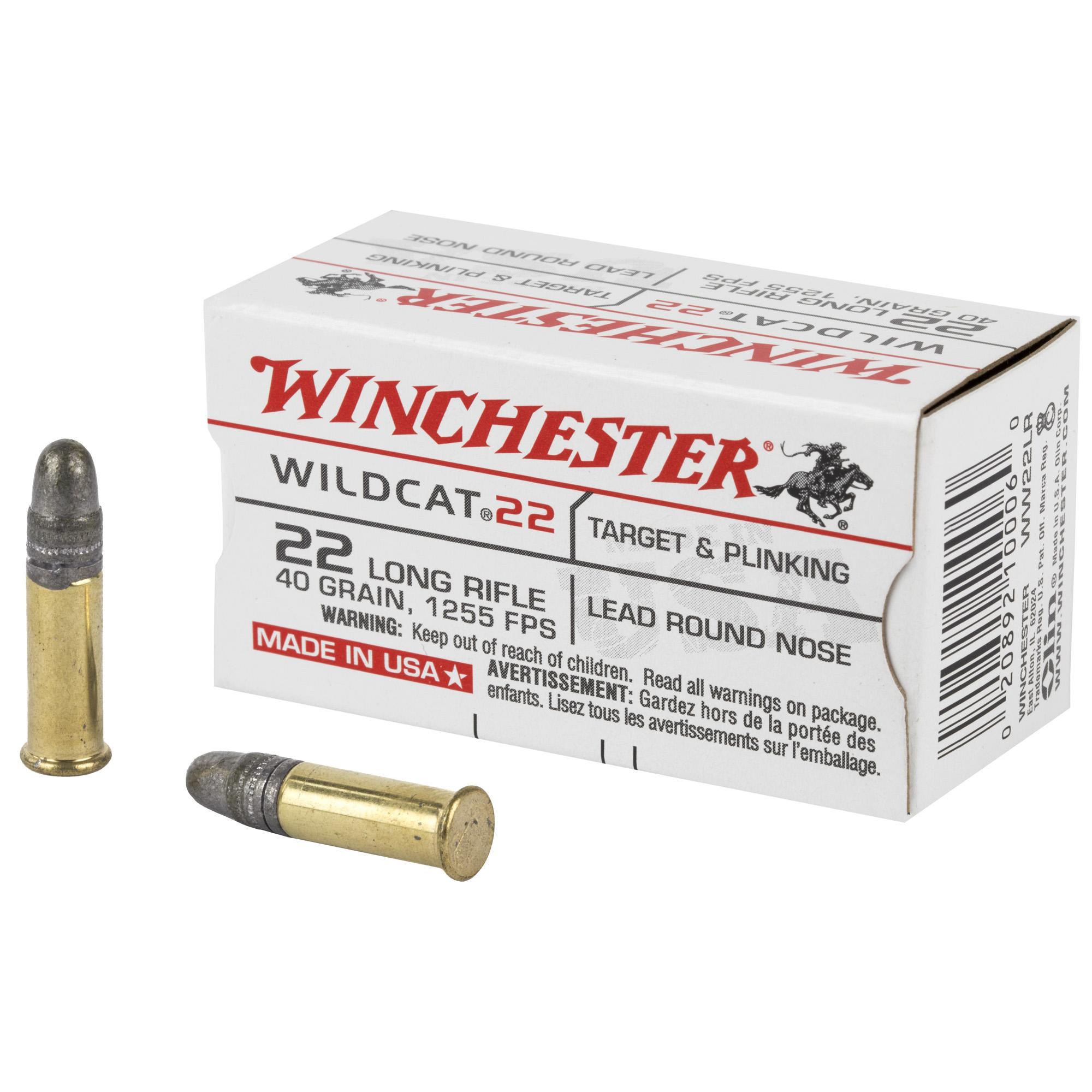 Win Wildcat 22lr 40gr Lrn 50/5000