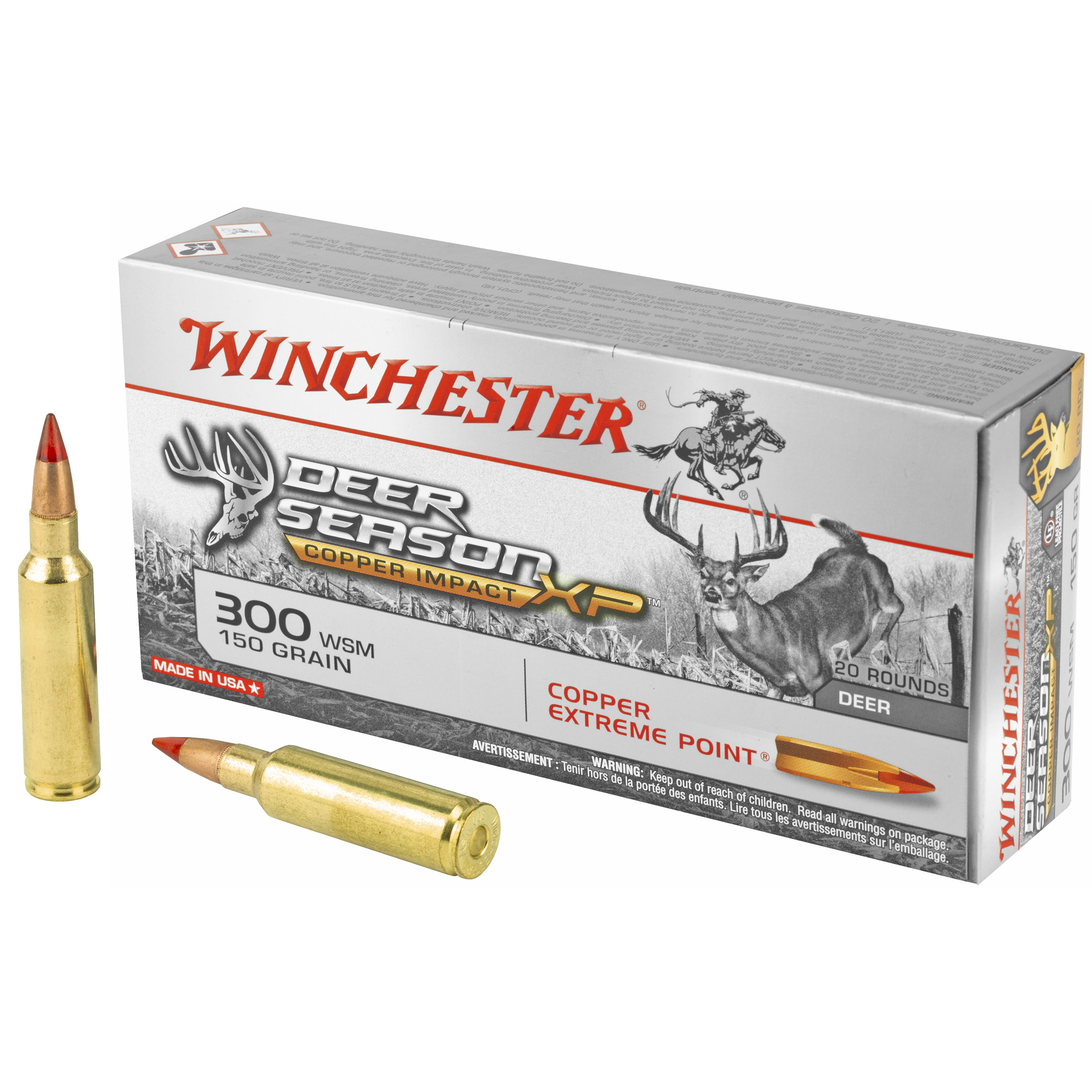 Win Deer Season 300wsm 150gr 20/200