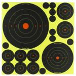 B/c Sht-n-c Rnd Bullseye Tgt Assort