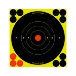"B/c Sht-n-c Rnd Bullseye Tgt 12-6"""