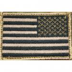 Bh Patch American Flag Rvrsd Tan/blk