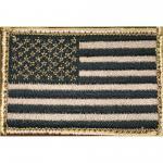 "Blackhawk! American Flag Patch, 2""x3"", Tan/black 90dtfv..."