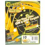 "Caldwell Ornge Peel Bulls-eye 5.5""10"