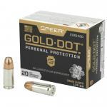 Spr Gold Dot 9mm 115gr Hp 20/200