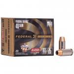 Fed Hydra-shok 40s&w 165gr 20/500