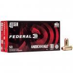 Fed Am Eagle 40sw 180gr Fmj 50/1000