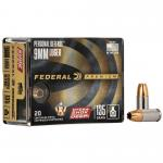 Fed Hydra-shok Deep 9mm 135gr Hp 20/