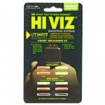 Hi-viz Litewave Handgun Replacement Litepipe Set. Includes Green And R...