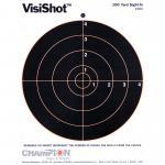 """Champion Visishot 8"""" Bullseye 10pk"""