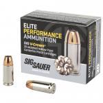 Sig Ammo 9mm 115gr Jhp 20/200
