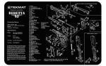 Tekmat Pistol Mat Beretta 92 Blk