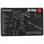 Tekmat Pistol Mat H&k Sp5k
