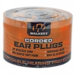 Walkers Foam Ear Crded Plugs 50pk