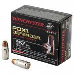 Win Defender 357sig 125gr Jhp 20/200