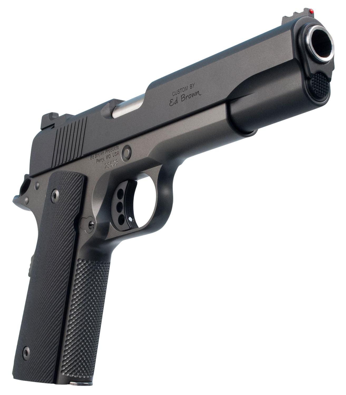 "Ed Brown SF18SG Special Forces  Single 45 Automatic Colt Pistol (ACP) 5"" 7+1 Black VZ Grip Stealth Gray Gen4 Frame Black Gen4"
