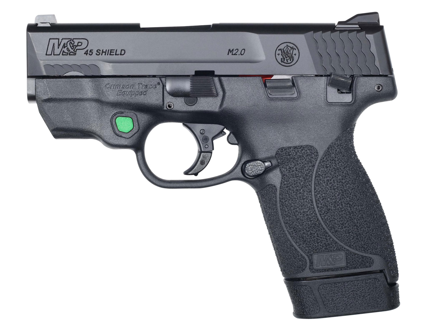 S&W M&P45SHLD  12089   45 3.3  TS  2.0 CT GRN