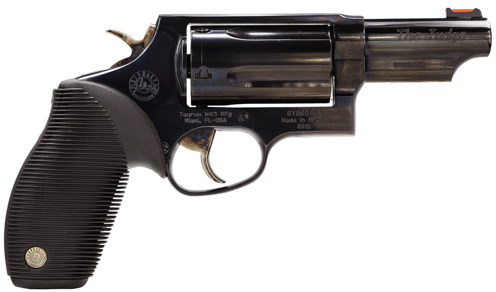 "Taurus 2441031T Judge 45/410 Single/Double 45 Colt (LC)/410 3"" 5 Black Ribber Blued"