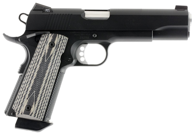 "Ed Brown SF3BBCAL2 Special Forces Gen 4 *CA Compliant* Single 45 Automatic Colt Pistol (ACP) 5"" 7+1 Black/Gray G10 Grip Black Ca"