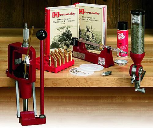 Hornady 085003 Lock N Load Centerfire Reloading Classic Kit Steel