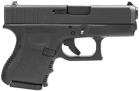 "Glock PI2750201 G27 Standard *CA Compliant* Double 40 Smith & Wesson (S&W) 3.42"" 9+1 Black Polymer Grip/Frame Grip Black"