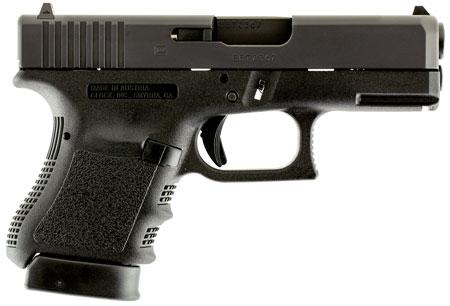 "Glock PI3650201FGR G36 Subcompact with Light Rail Double 45 Automatic Colt Pistol (ACP) 3.77"" 6+1 Black Polymer Grip/Frame Black"