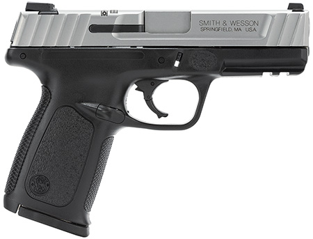 """Smith & Wesson 123403 SD  Double 40 Smith & Wesson (S&W) 4"""" 10+1 Black Polymer Grip Black"""