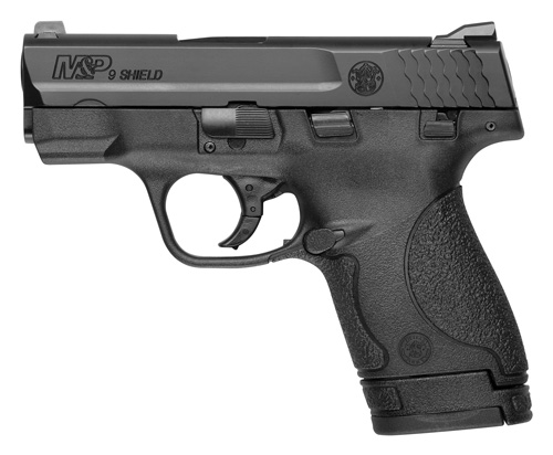 S&W SHIELD M&P9 9MM LUGER FS BLACKENED SS/BLACK POLYMER
