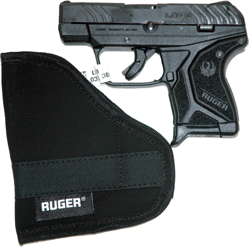 RUGER LCP II .380ACP 6-SHOT FS BLUED BLACK SYNTHETIC  *