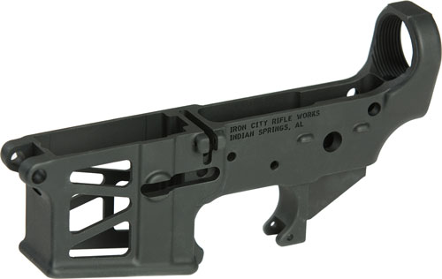 IRON CITY AR15 LOWER RECEIVER SKELETONIZED BLACK