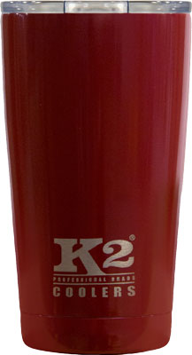 K2 COOLERS ELEMENT SERIES 18OZ SS MAROON W/LID