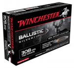WIN AMMO SUPREME .308 20-PACK 150GR. BALLISTIC SILVER-TIP